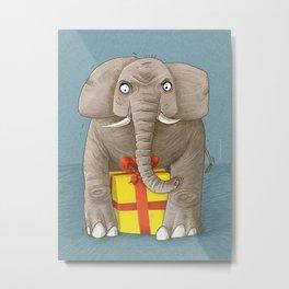 trunk or gift Metal Print