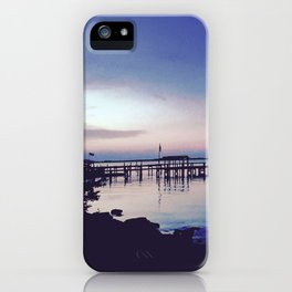 Breezy Waterfront iPhone Case