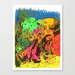 Neon Magic Canvas Print