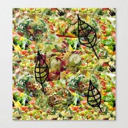 Salad Floral Canvas Print