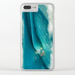 Finn and The Whale Clear iPhone Case