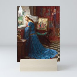 John William Waterhouse - Fair Rosamund Mini Art Print