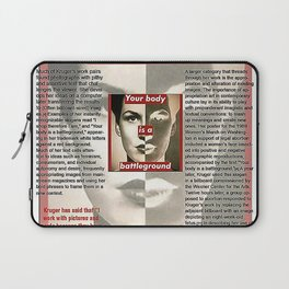 Who does she think she is? Laptop Sleeve