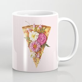 FLORAL PIZZA Coffee Mug