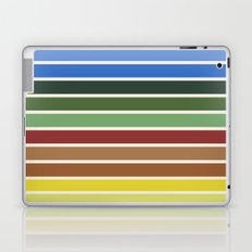 The colors of - Castle in the sky Laptop & iPad Skin