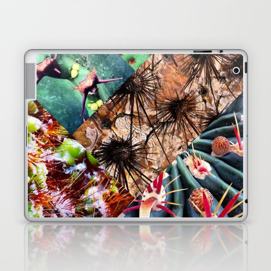 Cactus Collage Laptop & iPad Skin