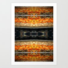 sizzling  Art Print