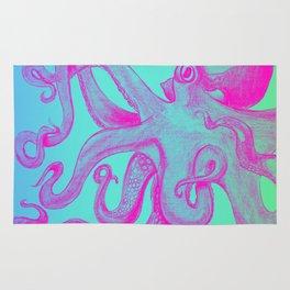 Pink Octopus Rug