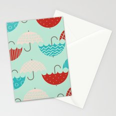Umbrellas Stationery Cards