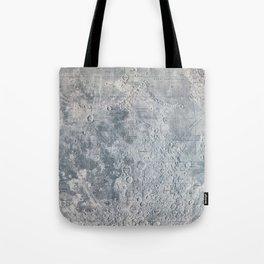Vintage Lunar Moon Map, 1960s Tote Bag