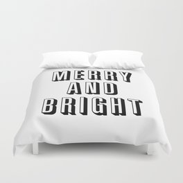 Merry and Bright Duvet Cover