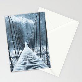IRON BRIDGE white Stationery Cards