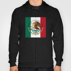 Flag of Mexico with Coat of Arms (augmented scale) Hoody