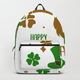 Happy St. Patricks Day Backpack