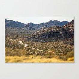 Geology Tour Road Canvas Print