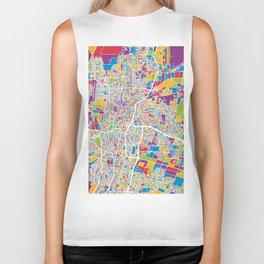 Mendoza Argentina City Street Map Biker Tank
