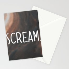 Anxiety Series: Scream Stationery Cards