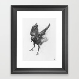 Common Crow [2] Framed Art Print