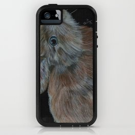 Rescued baby bunny iPhone Case