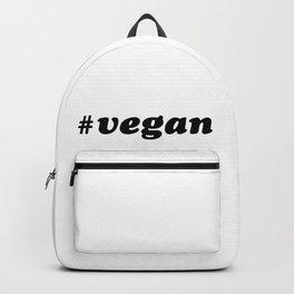 Hashtag VEGAN Backpack