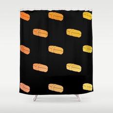 Sushi x Skateboard Shower Curtain