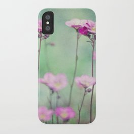 Saxifragia iPhone Case