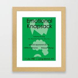 Emotional Knapsack - Friends Framed Art Print