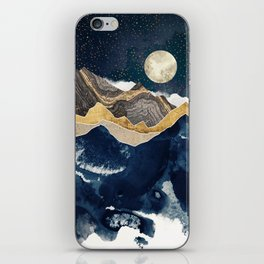 Midnight Winter iPhone Skin