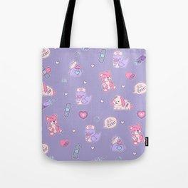 Nurse Ducks - Menhera Design Tote Bag