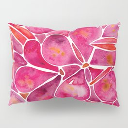Orchid Wall – Magenta Palette Pillow Sham