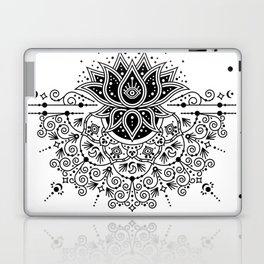 Lotus Blossom Mandala – Black Palette Laptop & iPad Skin