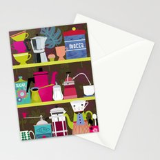 Coffee Lovers Shelf Stationery Cards