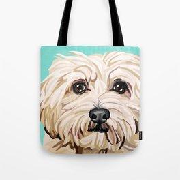 Gracie- Pet Portrait Tote Bag