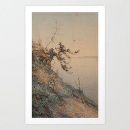 ALEKSEY ALEXANDROVICH PISEMSKY, EARLY EVENING LIGHT Art Print