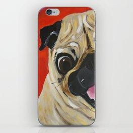 Pug-tastic iPhone Skin