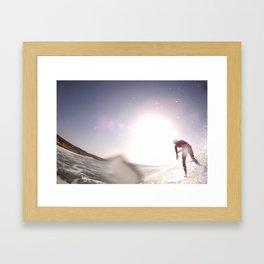 SSSURF Framed Art Print