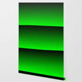 Black to green ombre flame Wallpaper