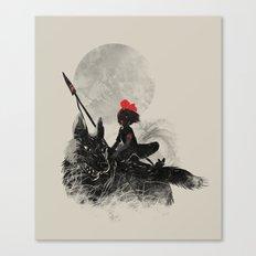 Princess Monokiki Canvas Print
