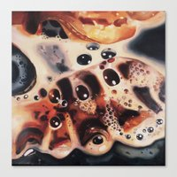 bacon Canvas Prints featuring Bacon...... by Alex Spinney