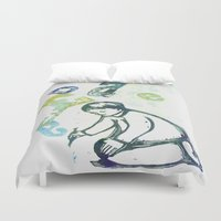 writing Duvet Covers featuring writing by valentina biletta