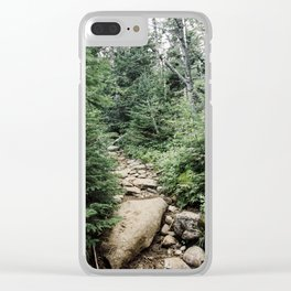 Wilmington Trail III Clear iPhone Case