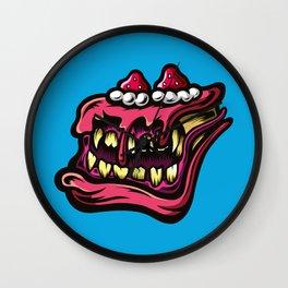 Cake Monster Wall Clock