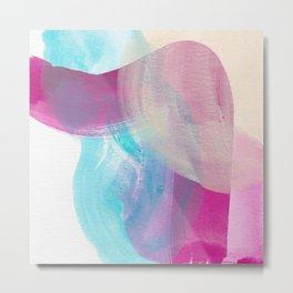 Blobs and Lines #2 Metal Print
