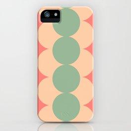 Gradual Rosegreen iPhone Case