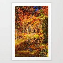 Chapel at Callaway Gardens Art Print