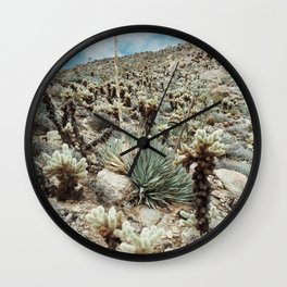 Mountain Cholla Wall Clock