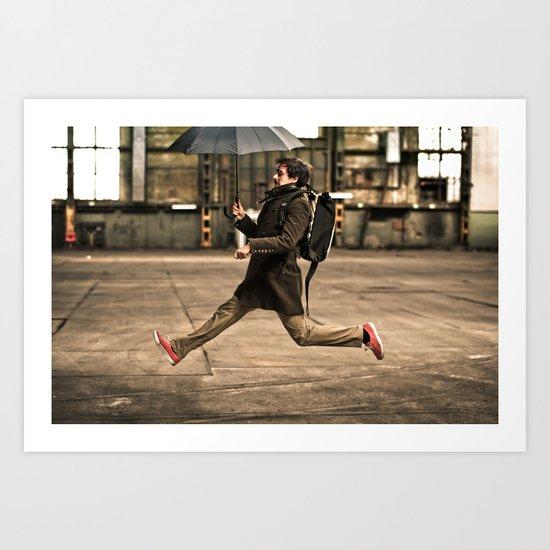 Mr. Poppins Art Print