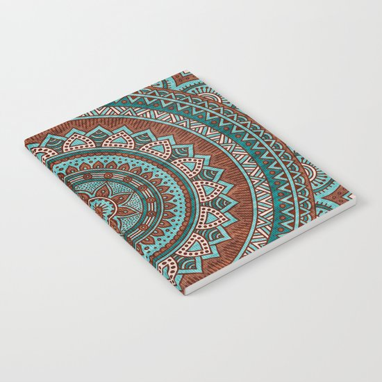 Hippie mandala 50 Notebook