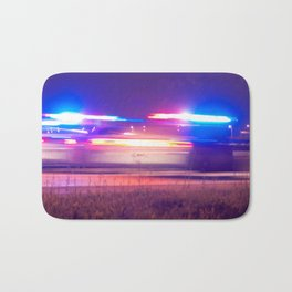 car police without tyres Bath Mat