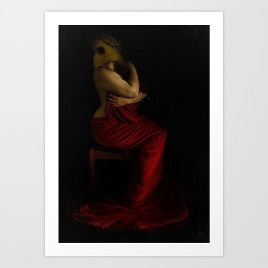 Tempted Art Print